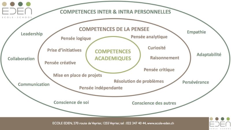 3 niveaux competences web